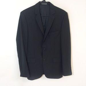 Zara Man Black Pinstripe Blazer Men's Size 36